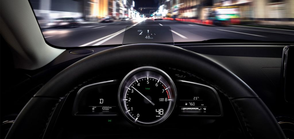 mazda2 active driving display